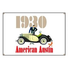 American Austin Banner