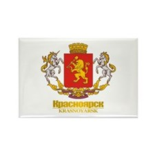 Krasnoyarsk COA Rectangle Magnet (10 pack)