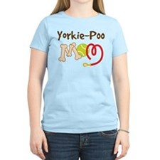 Yorkie-Poo Dog Mom T-Shirt