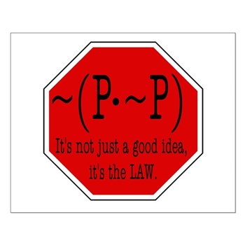P not P Small Poster
