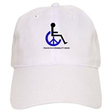 DISABILITY PEACE Baseball Cap
