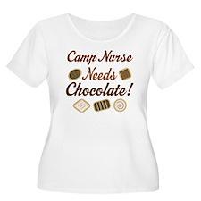 Camp Nurse Gift Funny T-Shirt