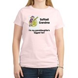 personalized Softball Grandma T-Shirt