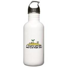 Whats In Your Soil (Light) Water Bottle