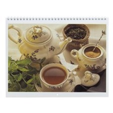 Time for Tea hanging wall calendar