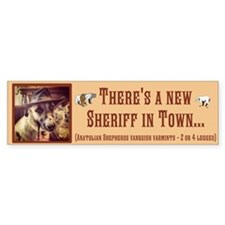 New Sheriff Bumper Sticker