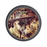 New Sheriff Wall Clock