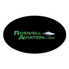 Roswell Aviation Decal