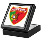 Portugal World Cup Soccer Keepsake Box