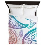 Pacific Paisley Queen Duvet