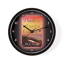 Death of a Cape Cod Cavalier clock.png Wall Clock