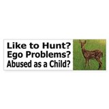 Anti Psycho Hunters - Bumper Sticker