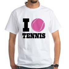 I Love Tennis Shirt