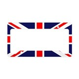British Flag License Plate Holder