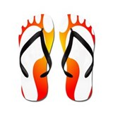 ff foot orange.PNG Flip Flops