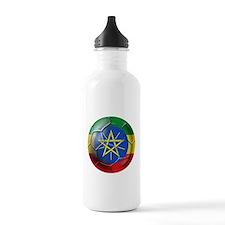 Ethiopia Football Water Bottle
