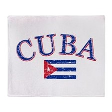 Cuba Football Throw Blanket
