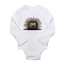 Porcupine Long Sleeve Infant Bodysuit