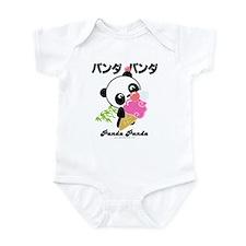 panda icecream PNG.png Infant Bodysuit
