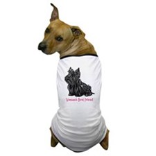 Woman's Best Friend Scottie Dog T-Shirt