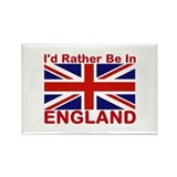 England Lover Rectangle Magnet