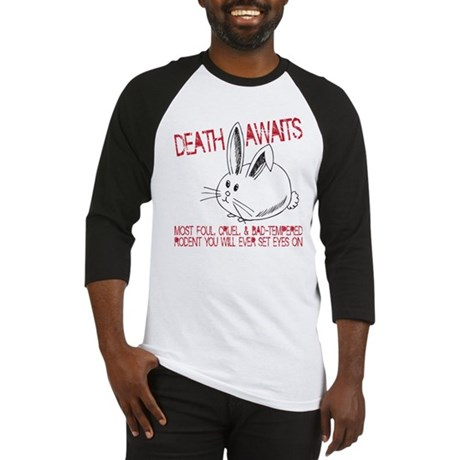 death awaits Baseball Jersey