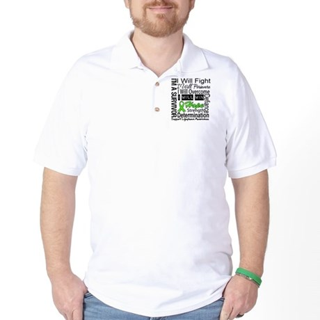 Lymphoma Persevere Golf Shirt