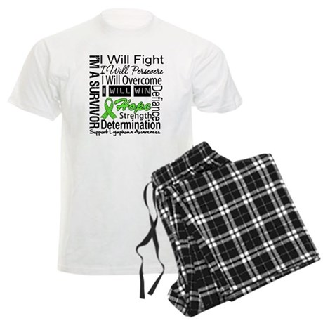 Lymphoma Persevere Men's Light Pajamas