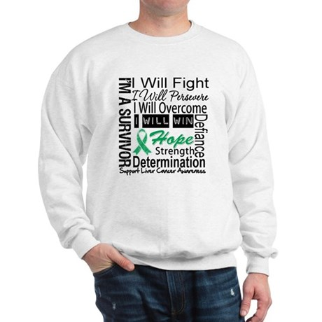 Liver Cancer Persevere Sweatshirt