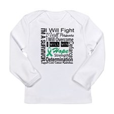 Liver Cancer Persevere Long Sleeve Infant T-Shirt