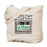 Liver Cancer Persevere Tote Bag