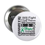 "Liver Cancer Persevere 2.25"" Button (100 pack)"
