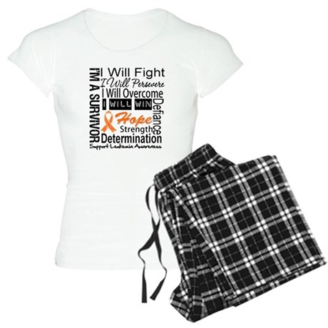 Leukemia Persevere Women's Light Pajamas