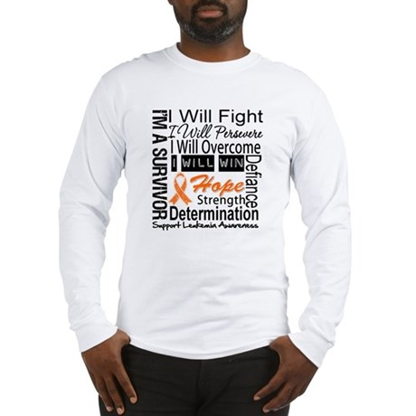 Leukemia Persevere Long Sleeve T-Shirt