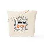 Leukemia Persevere Tote Bag