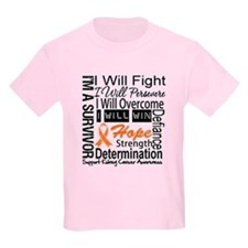 Kidney Cancer Persevere T-Shirt