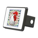 Roosters! Rectangular Hitch Cover