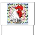 Roosters! Yard Sign