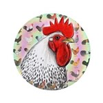 "Roosters! 3.5"" Button"
