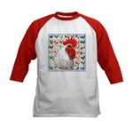 Roosters! Kids Baseball Jersey