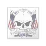 Flight 93 Square Sticker 3
