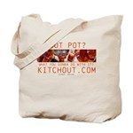Got Pot? KitchOut.com logo Tote Bag