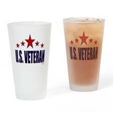 U.S. Veteran Drinking Glass