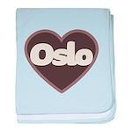 Oslo baby blanket
