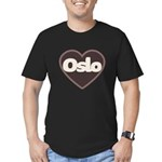 Oslo Men's Fitted T-Shirt (dark)