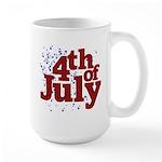 4th of July Large Mug