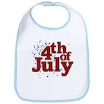 4th of July Bib