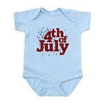 4th of July Infant Bodysuit