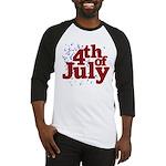 4th of July Baseball Jersey
