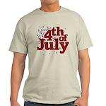 4th of July Light T-Shirt